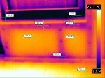 Näide lohakast ehitusest. Seinal temparatuuride erinevus 7C (loetakse veaks). -